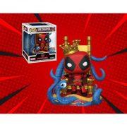 Marvel Heroes King Deadpool on Throne Deluxe Pop! Vinyl Figure - Px Exclusive