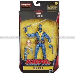 Marvel Legends Deadpool 6 Inch Figure BAF Strong Guy Series - Deadpool Blue & Gold