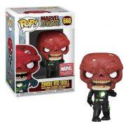Marvel Zombies Red Skull Pop Vinyl #668 - MCC Exclusive
