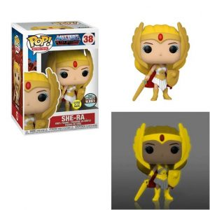 Masters of the Universe Classic She-Ra Glow-in-the-Dark Pop! Vinyl Figure - Specialty Series