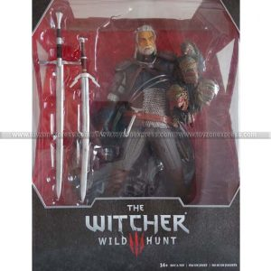 McFarlane Toys - The Witcher 3 The Wild Hunt Geralt of Rivia 12-Inch Action Figure