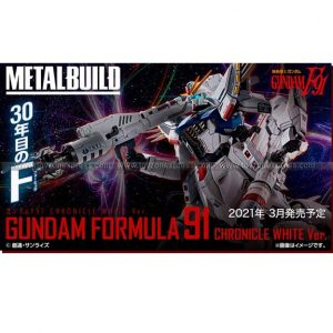 Metal Build Gundam F91 Chronicle White Ver