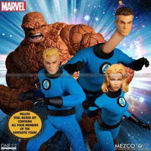 Mezco - Fantastic Four Deluxe Steel Boxed Set