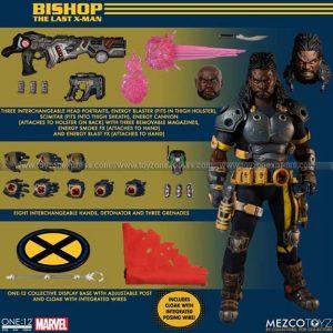 Mezco - X-Men Bishop One 12 Collective Action Figure