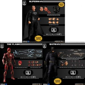 Mezco - Zack Snyder's Justice League One 12 Collective Deluxe Steel Boxed Set