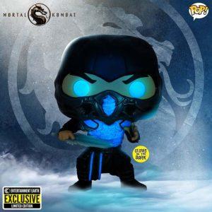 Mortal Kombat 2021 Sub-Zero Glow-in-the-Dark Pop! Vinyl Figure - EE Exclusive