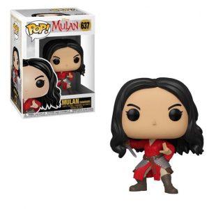 Mulan Live Action Warrior Pop! Vinyl Figure