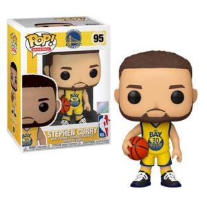 NBA Golden State Warriors Steph Curry Pop! Vinyl Figure