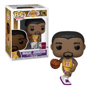 NBA Legends Magic Johnson (Lakers home) Pop! Vinyl Figure