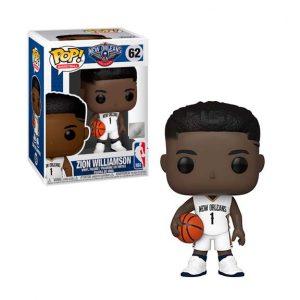 NBA New Orleans Pelicans Zion Williamson Pop! Vinyl Figure