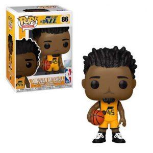 NBA Utah Jazz Donovan Mitchell (Alternate) Pop! Vinyl Figure