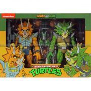 "Neca - TMNT (Cartoon) – 7"" Scale Action Figure – Captain Zarax and Zork 2 Pack"