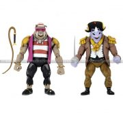 Neca - TMNT Turtles In Time - 7 Scale Action Figure - Pirate Rocksteady & Bebop 2-Pack