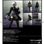 NieR Automata Play Arts Kai Action Figure - 2B (YoRHa No 2 Type B)