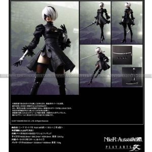 NieR Automata Play Arts Kai Action Figure - 2B (YoRHa No 2 Type B)
