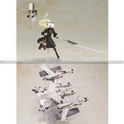 Nier Automata Plastic Model Kit Ho229 Type B & 2B (YoRHa No 2 Type B)