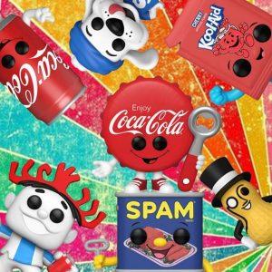 Planters Hawaiian Punch Spam Coca Cola Kool Aid Icee Slush Pop! Vinyl Figure