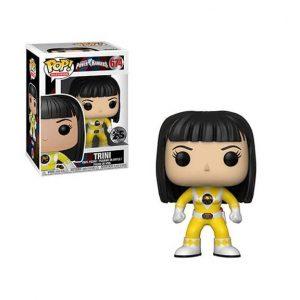 Power Rangers Yellow Ranger No Helmet Pop! Vinyl Figure (#674)