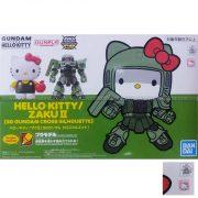SD Hello Kitty Zaku II SD Gundam Cross Silhouette