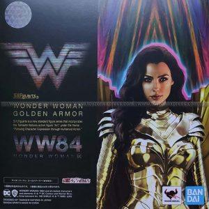 SHF - DC - Wonder Woman Golden Armor WW84