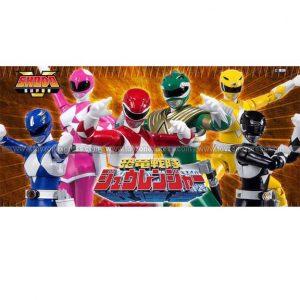 Shodo Power Rangers Set (Regular Release)