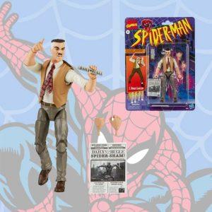 Spider-Man Retro Marvel Legends J Jonah Jameson 6-Inch Action Figure - Exclusive