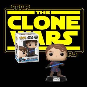 Star Wars The Clone Wars Anakin Pop! Vinyl Figure (#271)