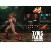 Storm Collectible - Golden Axe - Tyris Flare & Blue Dragon