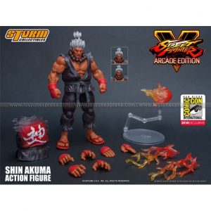 Storm Collectibles - Street Fighter V Shin Akuma 1 12 Scale Action Figure - SDCC 2018 Exclusive