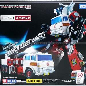 Takara Tomy - MP-37 Masterpiece Artfire w Targetmaster - WITH COIN