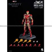 ThreeZero Avengers Infinity Saga 1 12 DLX Iron Man Mark 43 (Retail Ver)