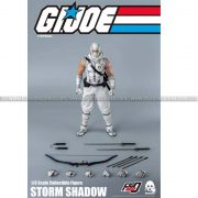 ThreeZero - G I Joe 1 6 Storm Shadow