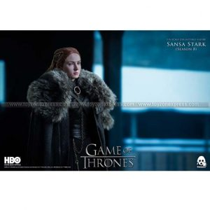 ThreeZero - Game of Thrones 1 6 Sansa Stark (Season 8) (Retail Ver)