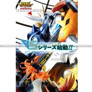 VS Digimon Adventure Children's War Game Omegamon vs Diablomon