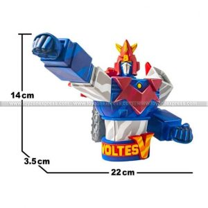 Voltes V Mini Bust - Cell Shaded