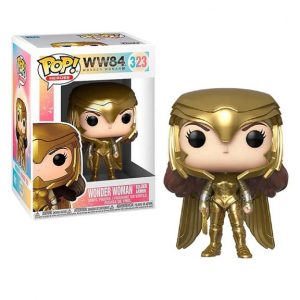 Wonder Woman 1984 Gold Power Metallic Pop! Vinyl Figure (#323)