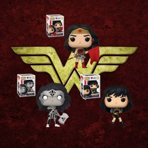 Wonder Woman 80th Anniversary Pop! Vinyl Figure